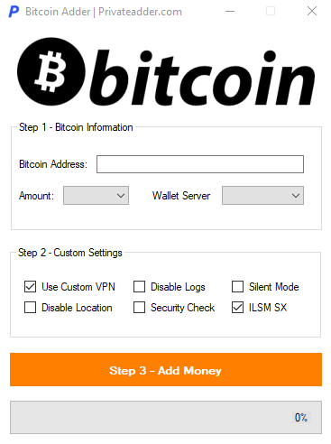 Bitcoin Money Adder